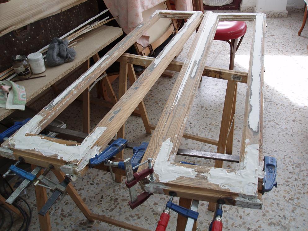 Restaurar ventanas de madera for Restauracion de puertas antiguas