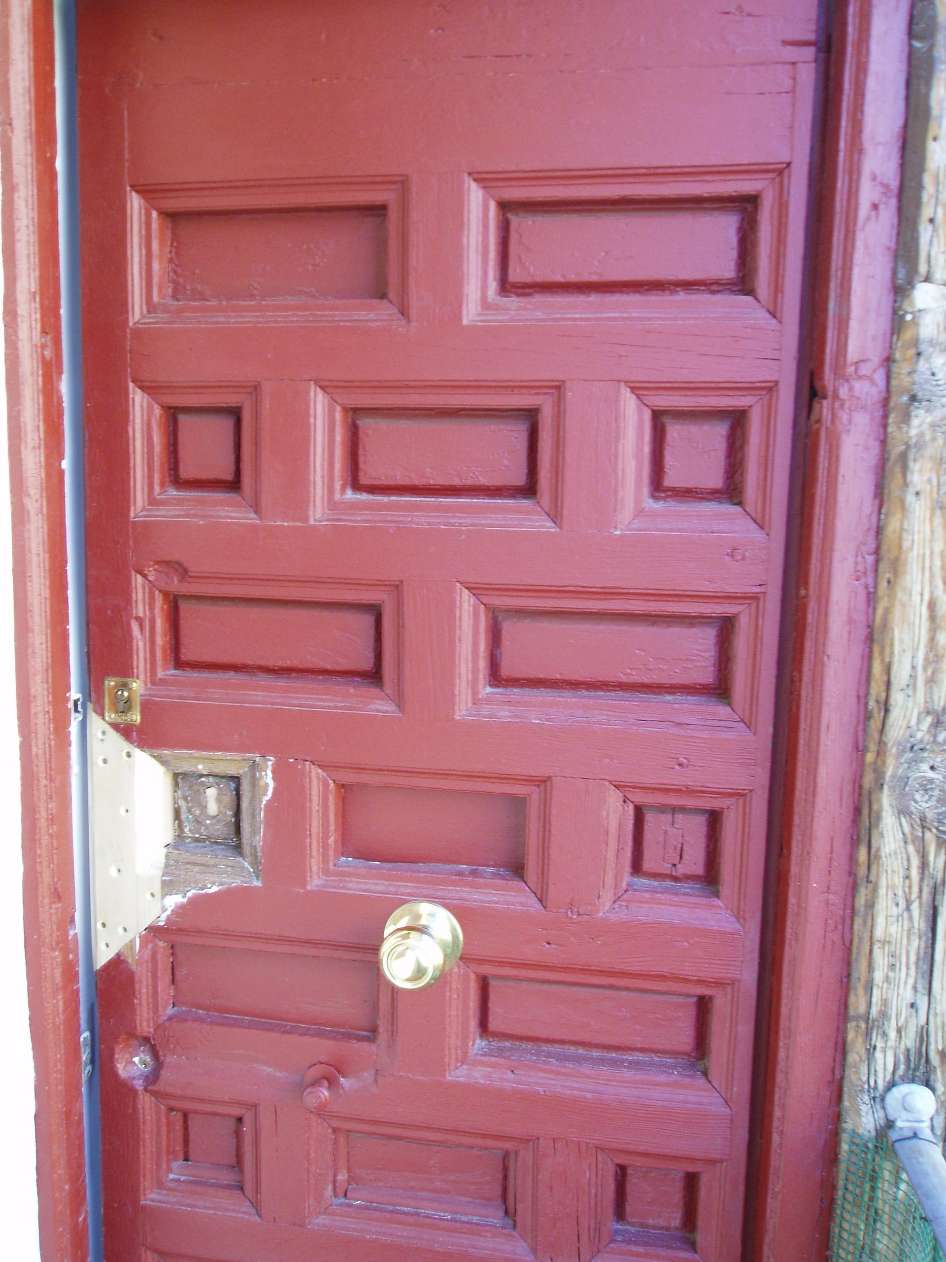 Arreglar puerta de madera fabulous cmo sustituir una for Reparar puerta madera
